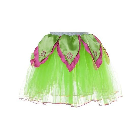 Groen/roze feeen rokje One size Multi