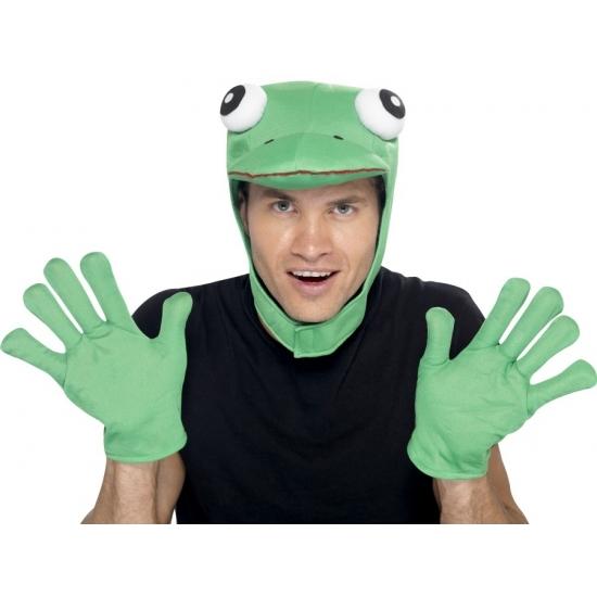 Groene kikker setje voor volwassenen