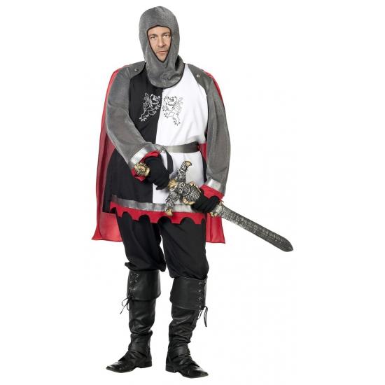 Grote maat middeleeuws ridder kostuum 58 (3XL) Multi