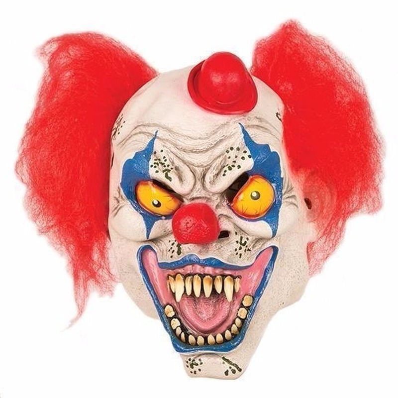 Halloween horror clown masker Multi