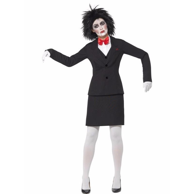 Halloween verkleedkleding Saw Jigsaw voor dames 40-42 (M) Multi