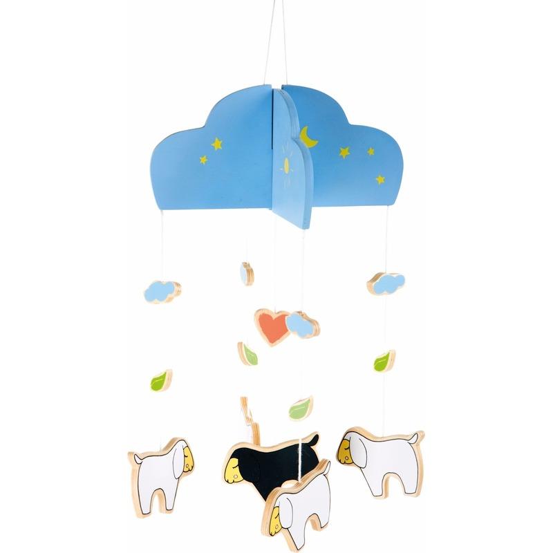 Houten Schaapjeslammetjes Mobiel Voor In De Kinder
