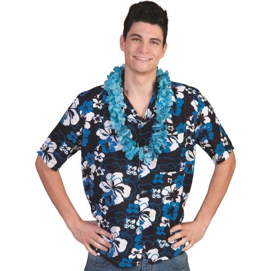 Hawaii thema verkleed shirt voor heren 48-50 (S/M) Multi