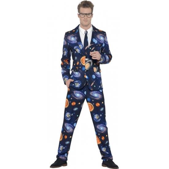 Heelal heren kostuums 48-50 (M) Multi