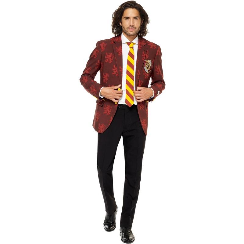 Heren verkleedkostuum Harry Potter Griffoendor/Gryffindor business suit 52 (XL) Multi
