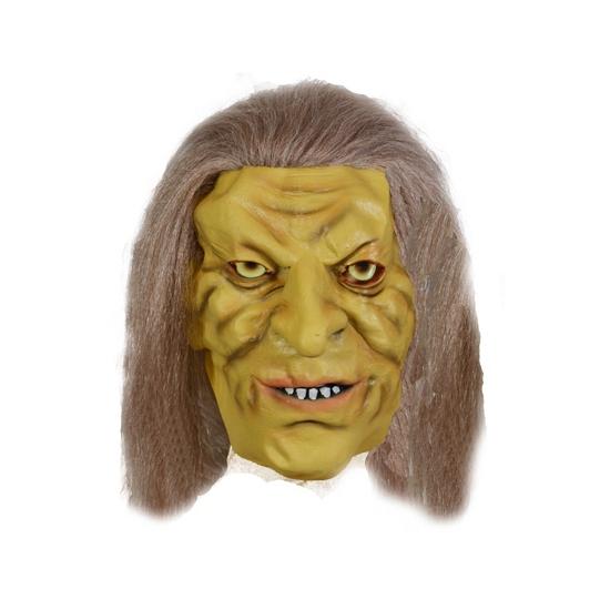 Holbewoner masker rubber - Verkleedmaskers