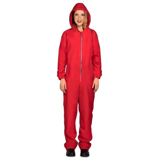 Jumpsuit Papel rood voor dames 42-44 (L/XL) Rood