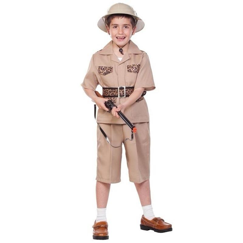 Jungle kostuum voor kids 120-130 (7-9 jaar) Multi