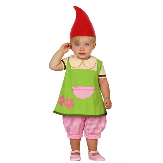 Kabouter kostuum voor peuters 6-12 maanden Multi