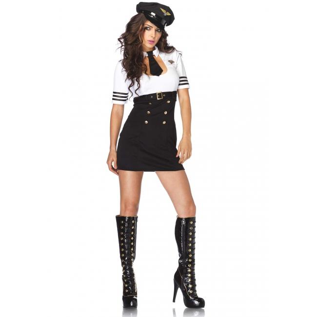 Kapitein jurkje voor dames 36 (S) Multi