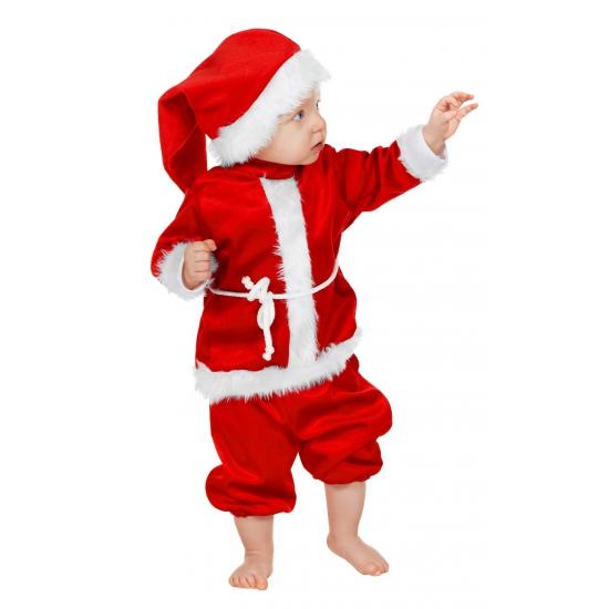 Kerst baby kleding compleet 86 (12-18 maanden) Rood