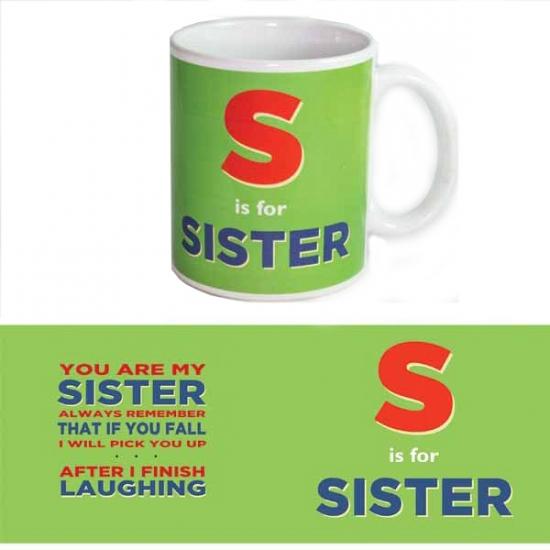 Koffie beker voor zusje
