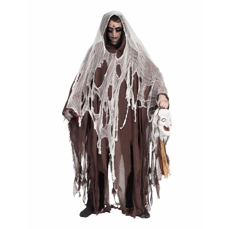 Lange bruine horror mantels one size One size Bruin