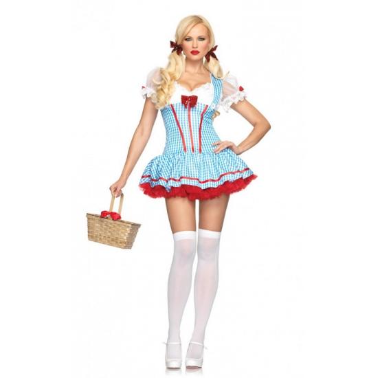 Lichtblauw Dorothy van Oz jurkje M/L