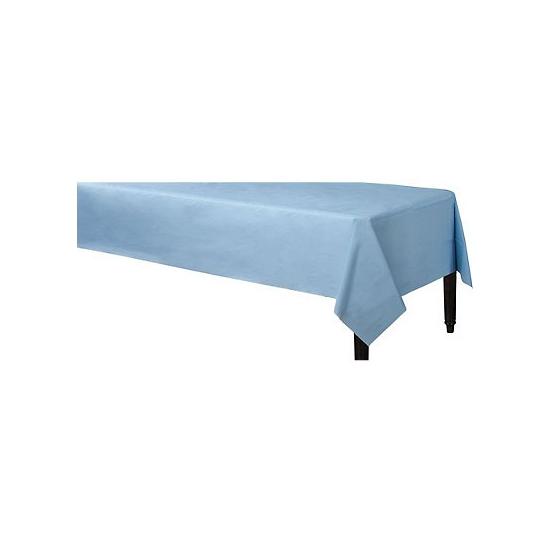 Lichtblauwe tafelkleden 140 x 240 cm Blauw