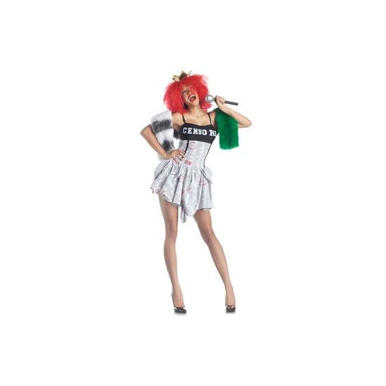 Look-a-like Rihanna kostuum M Multi