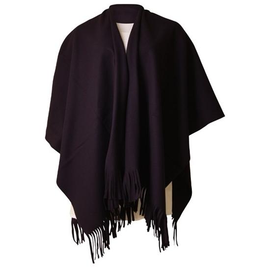 Dames mantel cape poncho zwart | Fun en Feest