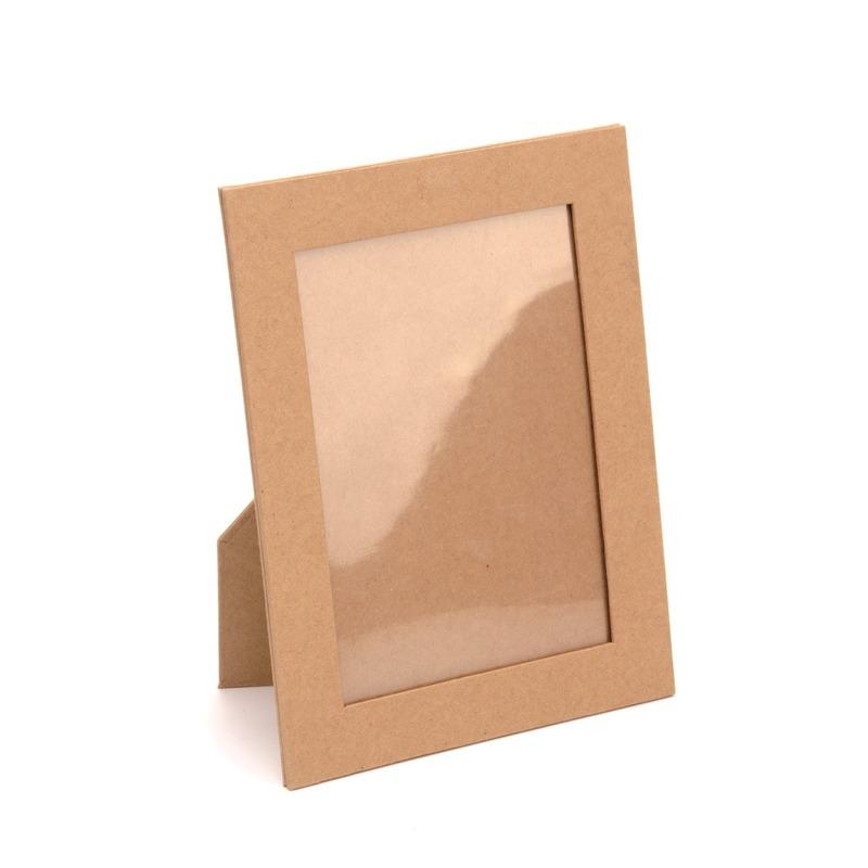 Maak je eigen fotolijstje 16,5 cm Bruin