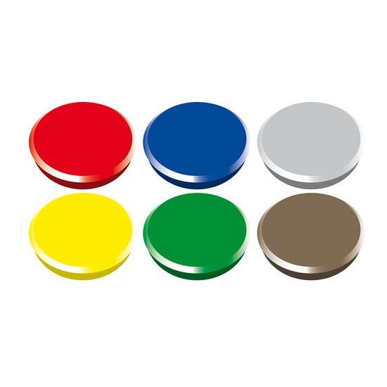 Magneten setje van 6 stuks