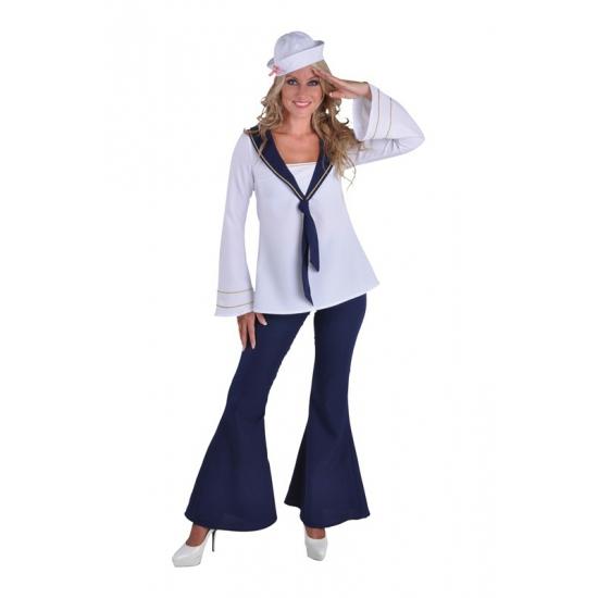 Matrozen kostuum voor dames 40 (L) Multi