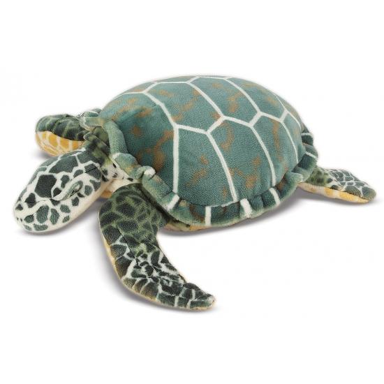 Mega knuffel zeeschildpad 81 cm