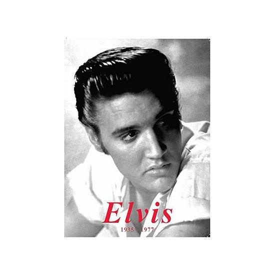 Metalen plaatje Elvis Presley -