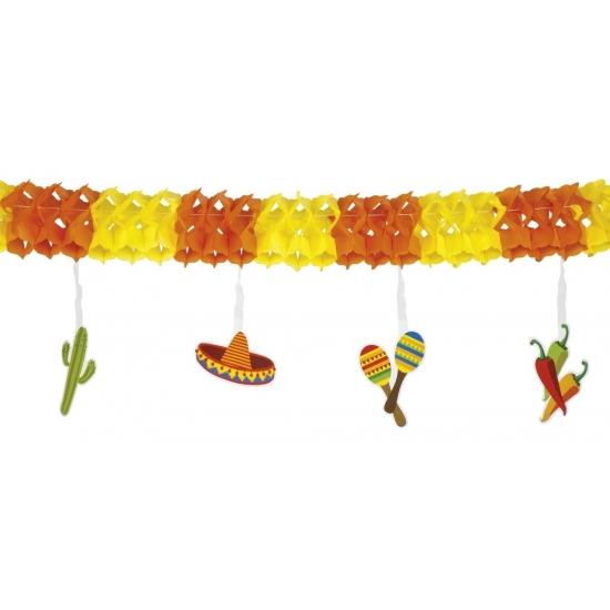 Mexicaanse versiering slinger Multi