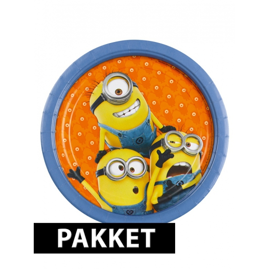 Minions versiering pakket voor kinderfeestje Multi