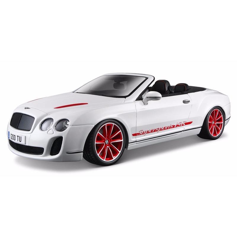 Model auto Bentley Continental cabrio 1:18