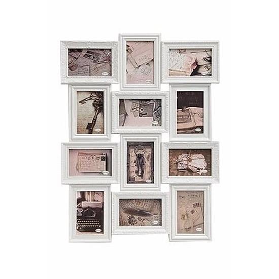 Muur frame fotolijst wit 52 x 68 cm Wit