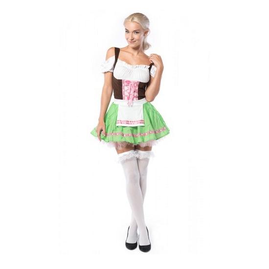Oktoberfest sweetheart jurkje voor dames S Multi