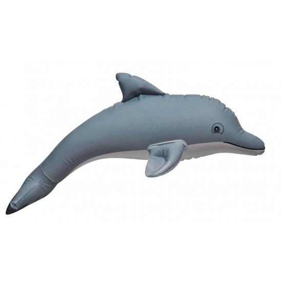 Opblaas dolfijn grijs 51 cm Multi