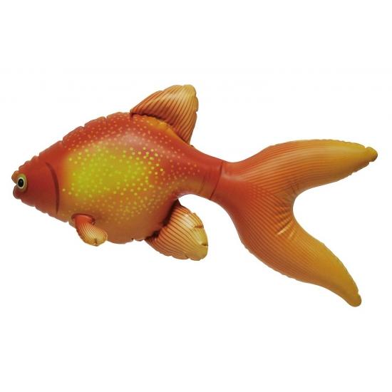 Opblaas goudvis oranje 51 cm