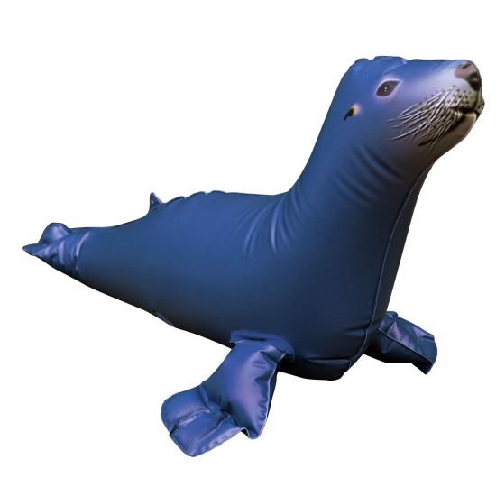 Opblaas zeeleeuw blauw 51 cm