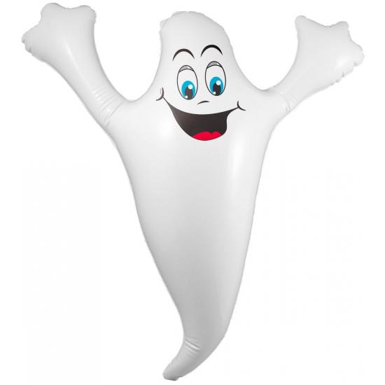 Opblaasbare spook 52 cm halloween/horror thema Wit