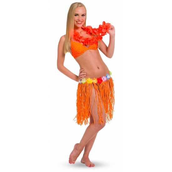 Oranje Hawaii rok One size Oranje