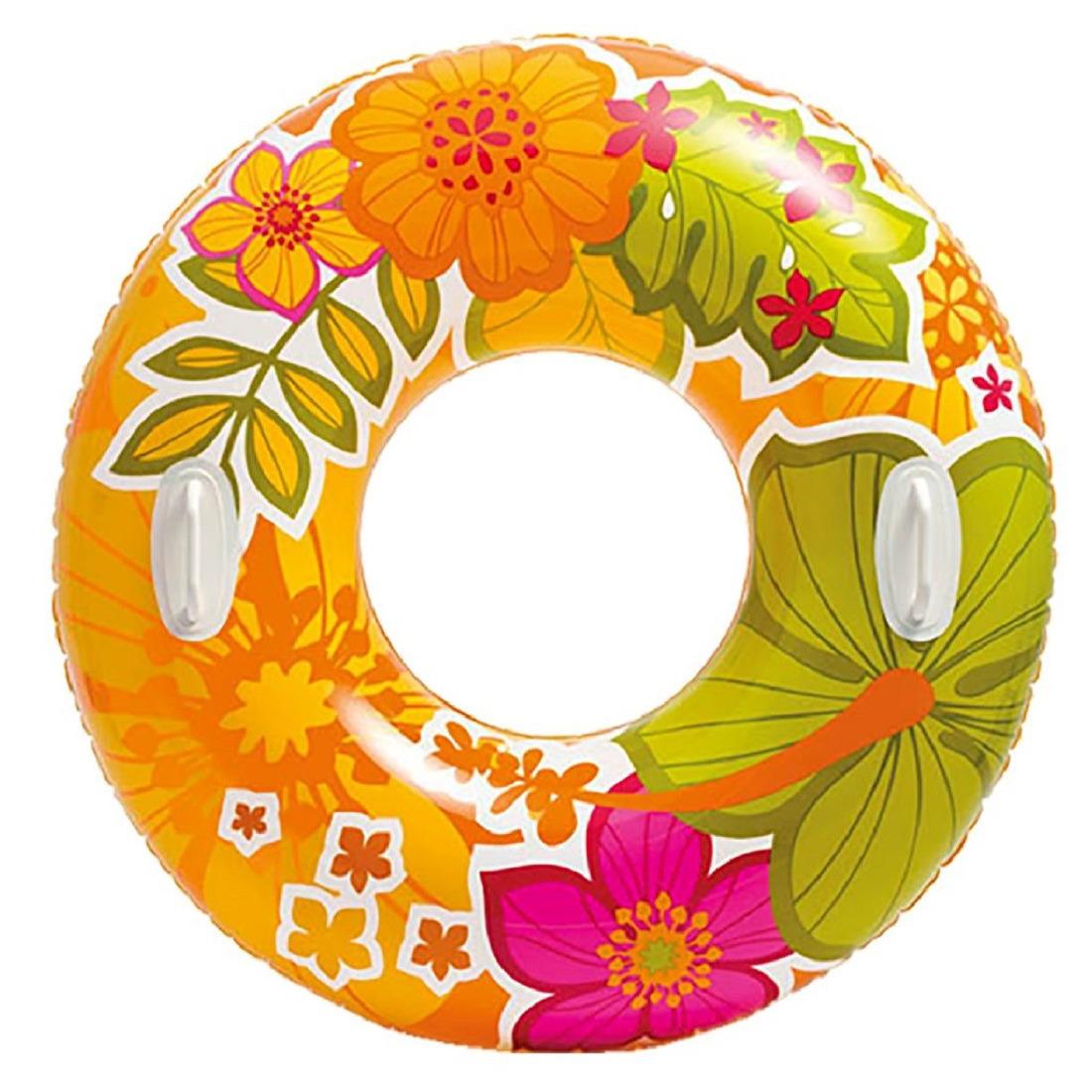 Oranje Intex zwemband 97 cm