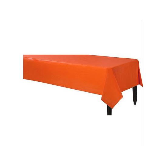 Oranje tafelkleden 140 x 240 cm Oranje