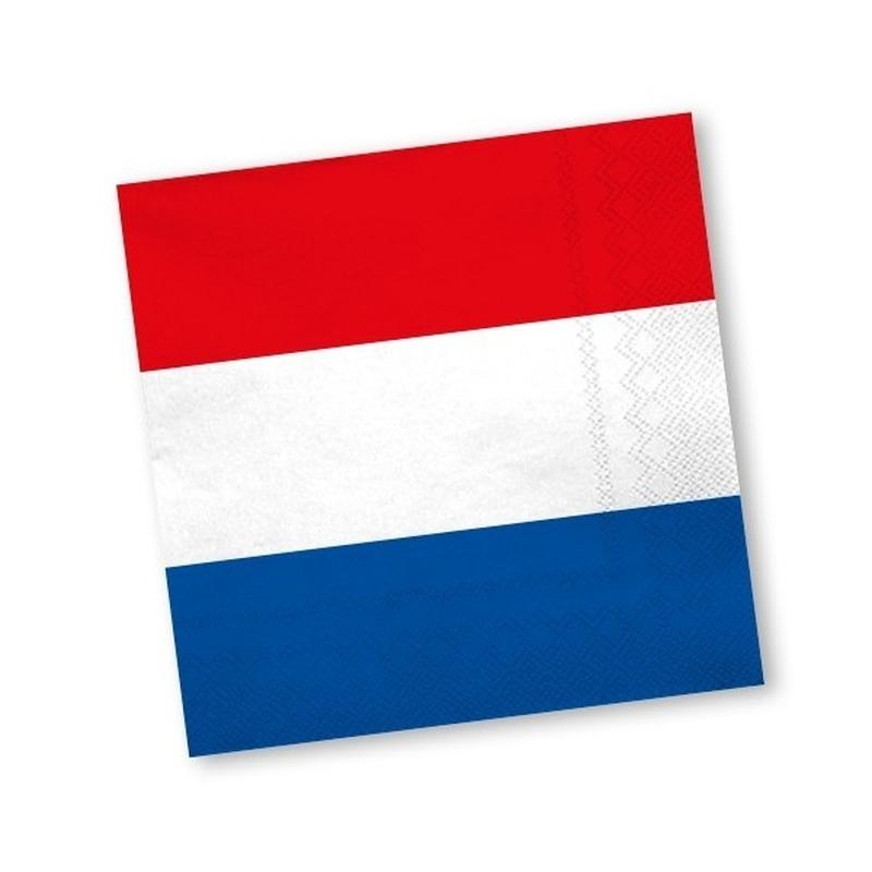 Papieren Holland servetten 60 st -