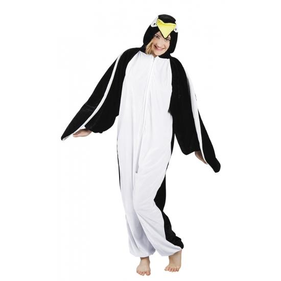 Pinguin onesie dierenpak 180 cm One size Multi
