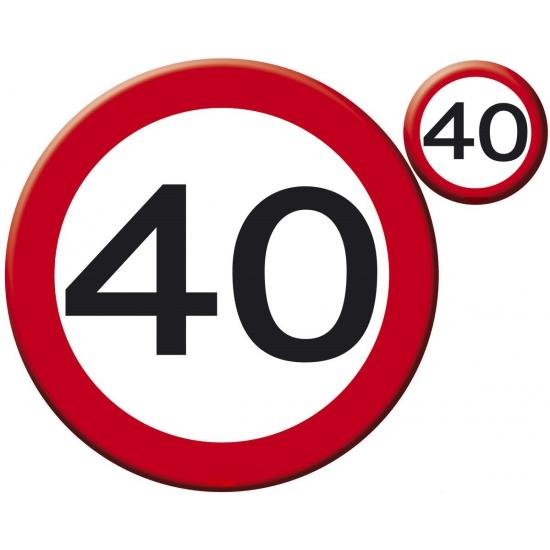 fun artikelen 40 jaar 40 jaar tafel decoratie artikelen | Fun en Feest fun artikelen 40 jaar