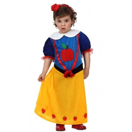 Prinsessen baby carnaval kostuum 6-12 maanden (74-80) Multi
