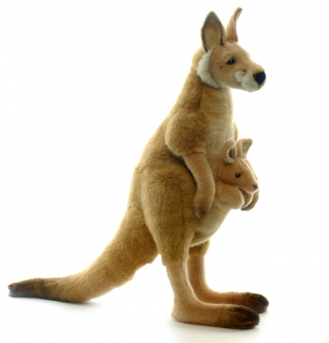 Reuze kangaroe knuffel 43 cm