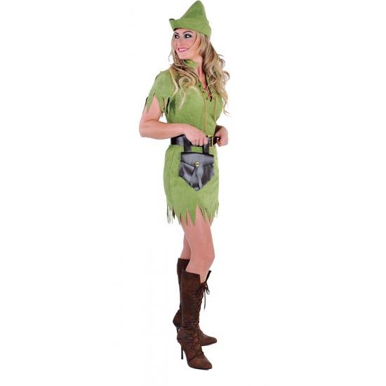 Robin Hood verkleed kleding voor dames 38 (M) Multi