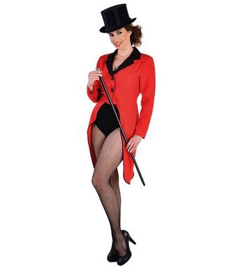 Rode slipjas voor dames L (44-46) Rood