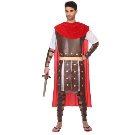 Romeinse gladiator Marcus kostuum/set voor heren XL Multi