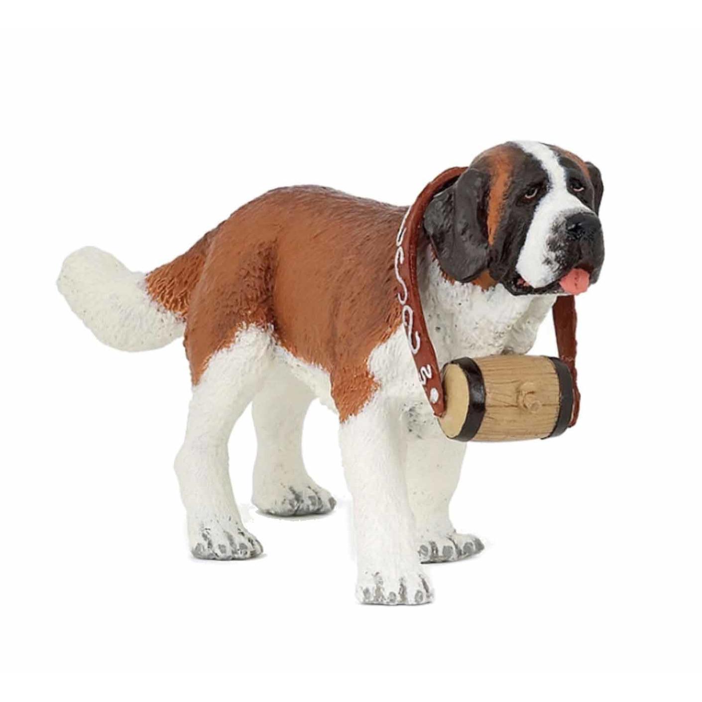 Saint Bernard hond plastic Multi