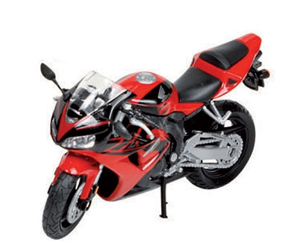 Schaalmodel Honda CBR motor 1:18 Rood