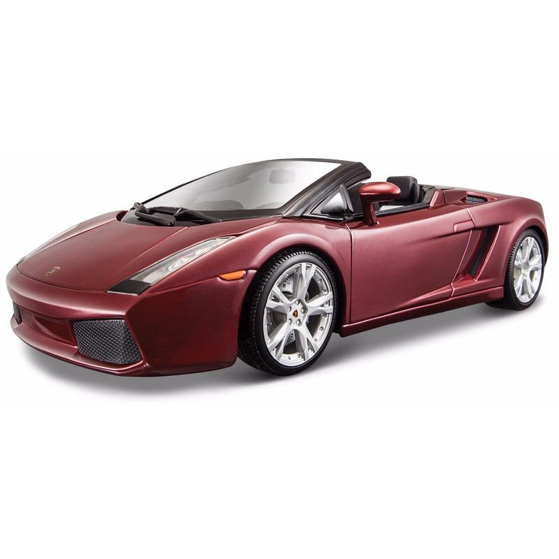 Schaalmodel Lamborghini Gallardo cabrio 1:18
