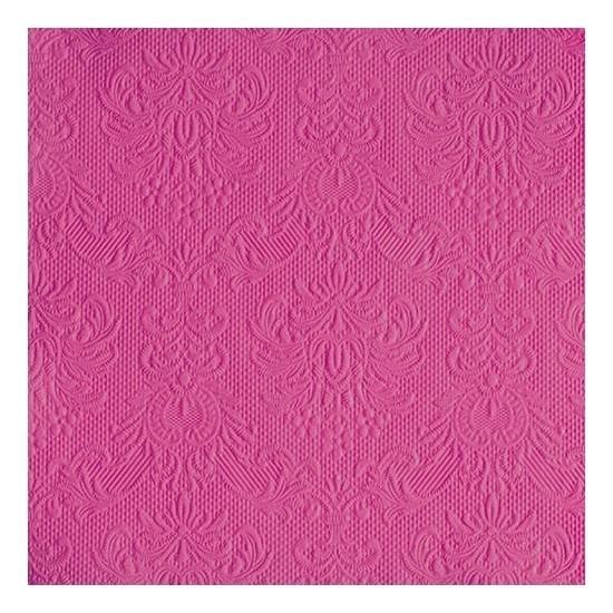 Servetten roze barok thema 3-laags 15 stuks -